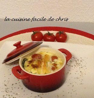 clafoutis de tomates cerises au Marcellin