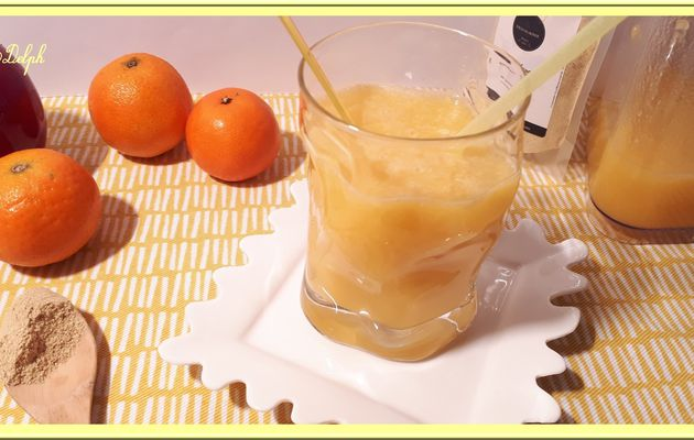 Jus de clémentines, orange, pomme et combava
