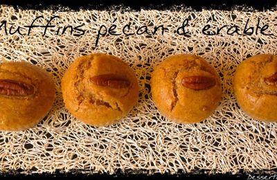 Muffins pécan & érable