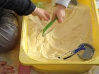 Le retour du bac à sable (le vrai ou presque) avec les tout petits
