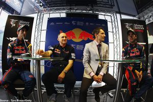 Toro Rosso soutenu par Money Service Group