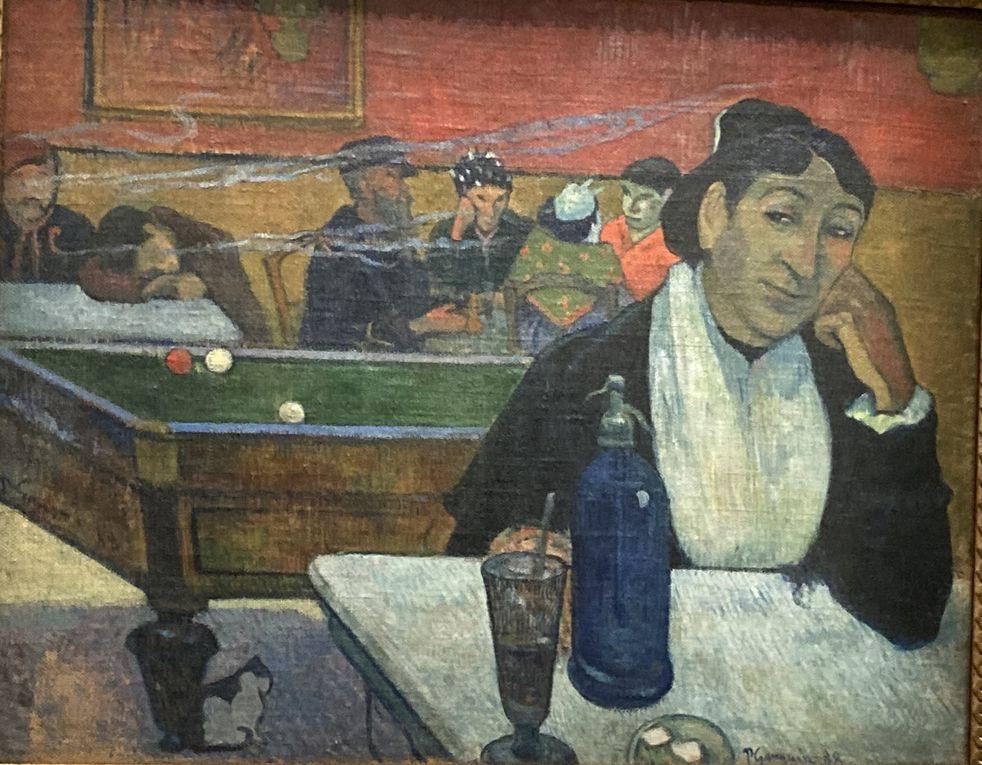 Gauguin : Café à Arles et journée en Polynésie