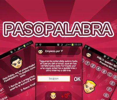 PasoPalabra, nueva app para Android ¡Échale un...