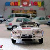 FASCICULE N°75 FORD ESCORT RS 1600 1973 MONTE CARLO - H. MIKKOLA JIM PORTER IXO 1/43. - car-collector.net