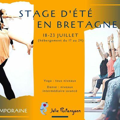 Stage d'été en Bretagne - 18-23 juillet