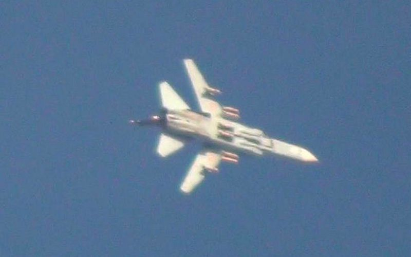 Une batterie sol-air israélienne a abattu un Su-24 syrien