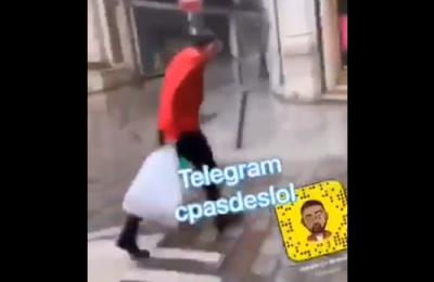 """[Vidéo] """"Gros fils de pute"""" : Eric Zemmour agressé et insulté par une racaille en pleine rue"""