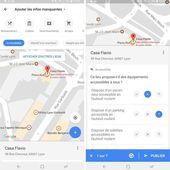 Google Maps fait un pas de plus vers les personnes en situation de handicap et le concept de Digital Labo - OOKAWA Corp. Raisonnements Explications Corrélations