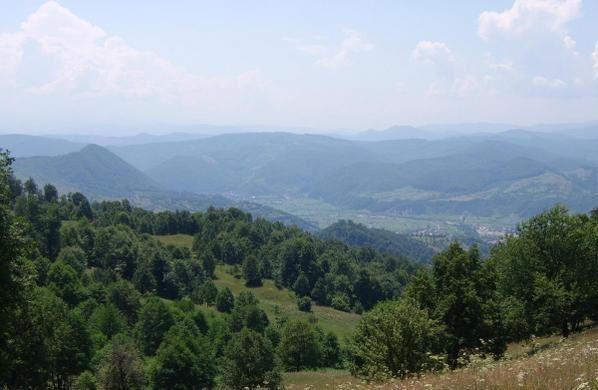 peisaje de la munte si la tara