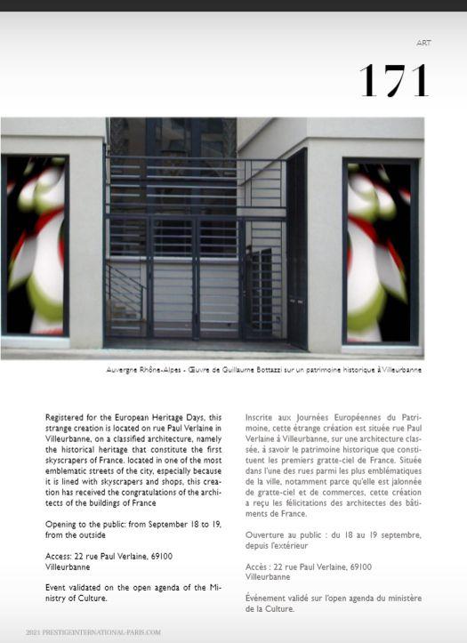 Guillaume Bottazzi - PRESTIGE INTERNATIONAL MAGAZINE