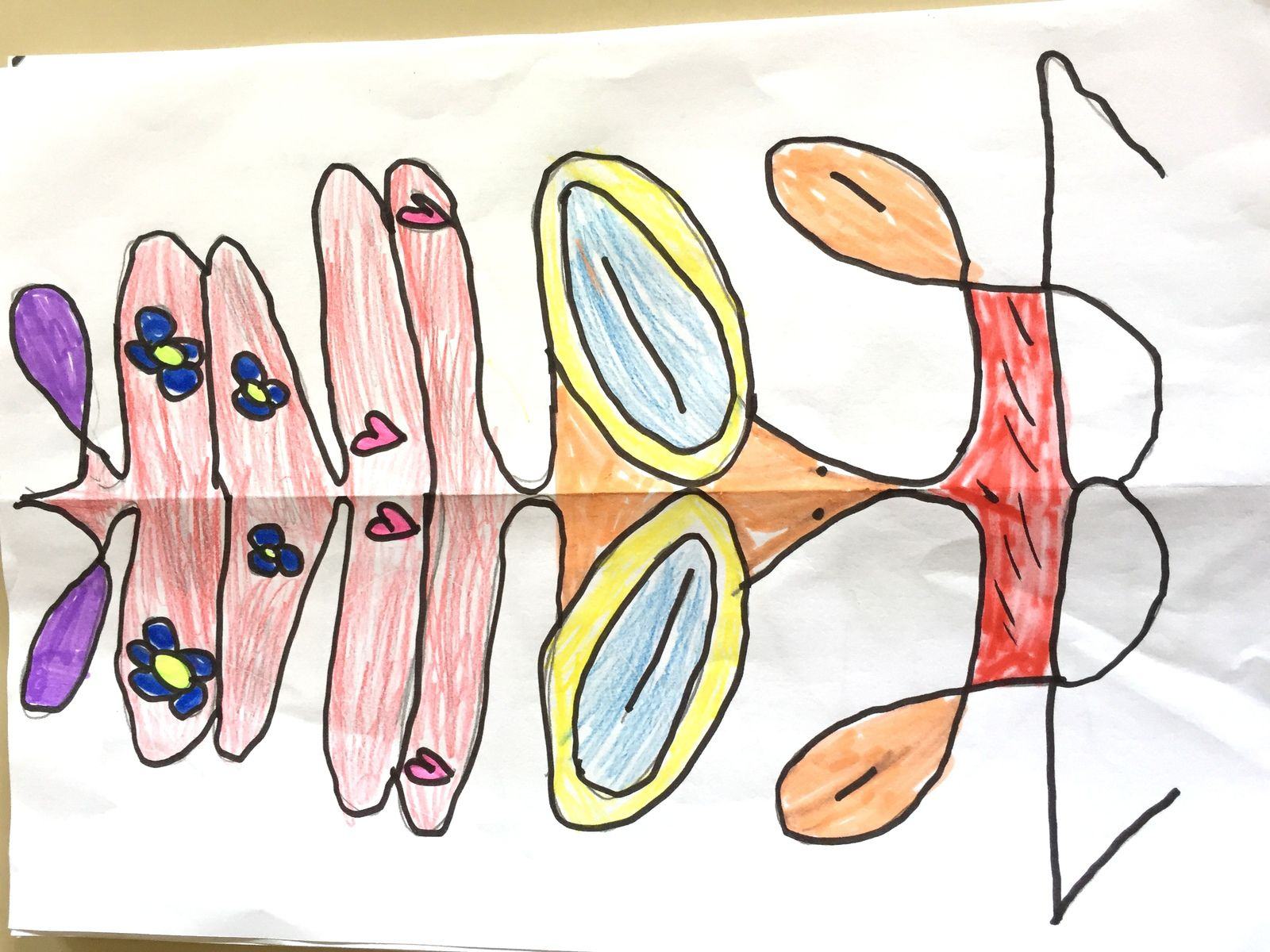 prenom totem art symétrie sur charlotteblablablog
