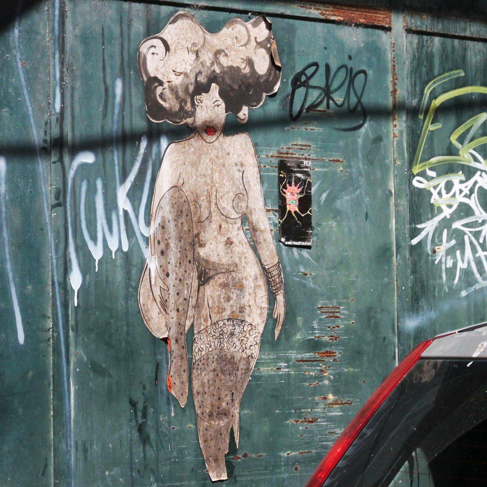Street art autour de Lorient - août 2021