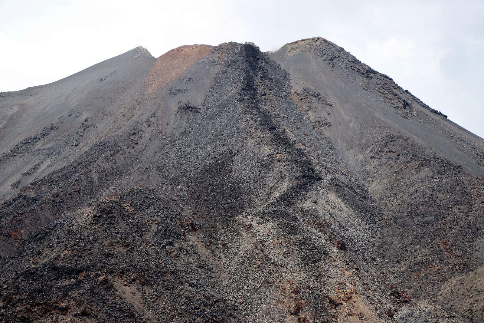 Nevados de Chillan - field analyzes of the L5 flow - Doc. Sernageomin 26.03.2021