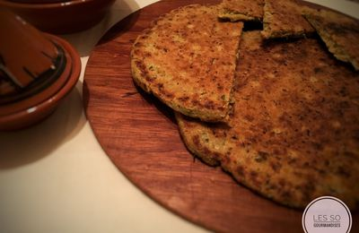 Galette aux Herbes / Aghroum Lahwal