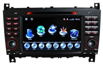 television deals   Buying Piennoer Car GPS Original Fit Mercedes Benz CLC 6-8 Inch Touchscreen Double-DIN Car DVD Player  &  In Dash Navigation System,Navigator,Built-In Bluetooth,Radio with RDS,Analog TV, AUX & USB, iPhone/iPod Controls,steering wheel control, rear view camera input