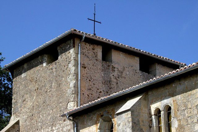 Diaporama église fortifiée de Bergouey