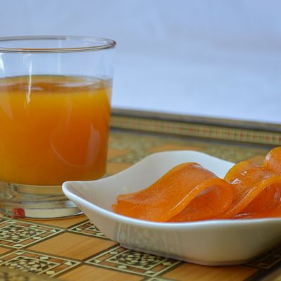 Qamer ed-Din: nectar d'abricot