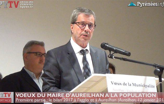 Voeux du Maire d'Aureilhan 01 Le Bilan 2017 (12 janv 18) | HPyTv La Télé de Tarbes