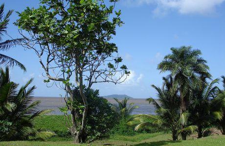 Guyane, les plages de Cayenne et de Kourou
