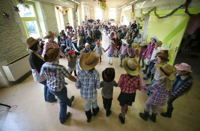 Noël des enfants à Reignac.