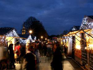 Le marché de Noël et les animations lors des éditions précédentes