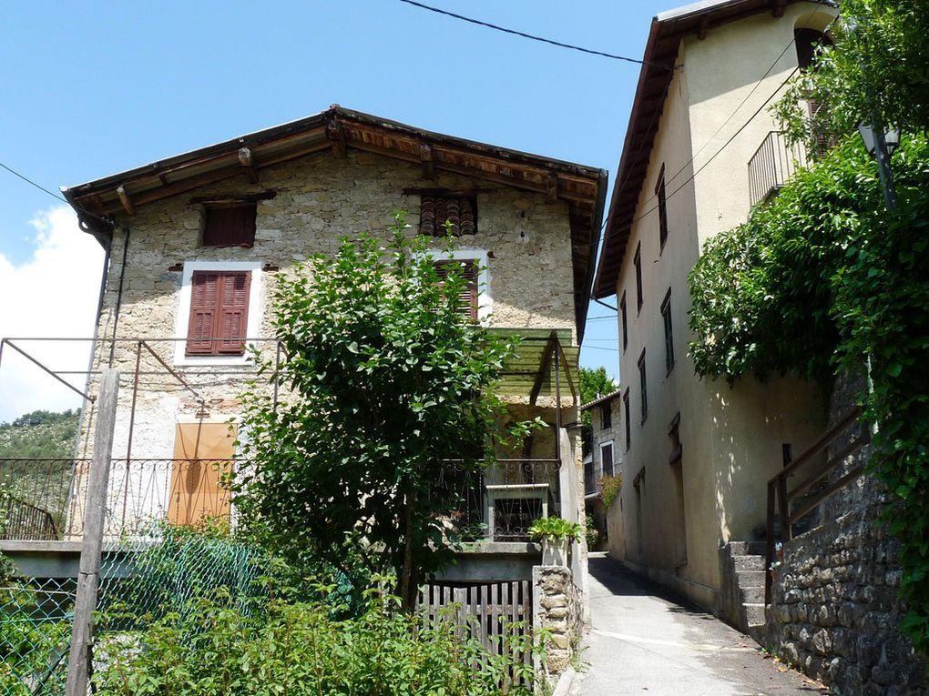 Village de St Colomban , commune de Lantosque 06450