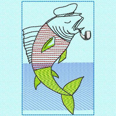 un marin poisson