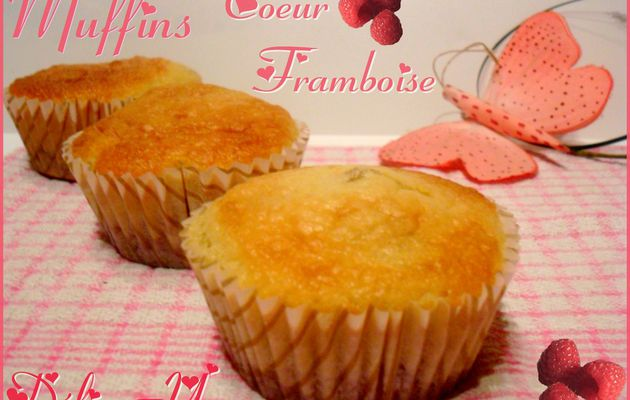 Les Muffins Coeur Framboise ...