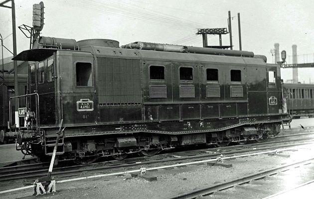 La locomotive Diesel Electrique 4 AMD 1