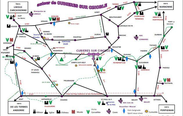 Direction Rennes les Bains