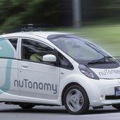 Empieza a circular el primer taxi sin conductor del mundo