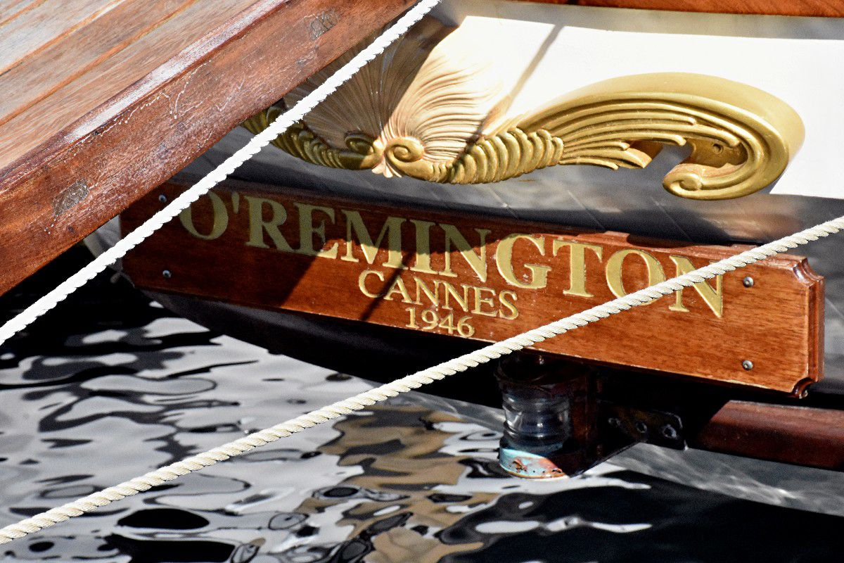 LE LEGENDAIRE O' REMINGTON A CANNES