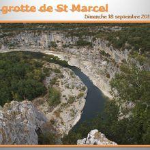 Dimanche 17 septembre : La grotte de St Marcel
