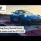 On the track with the Porsche 911 GT3