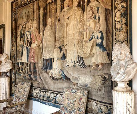 Château Hautefort, les salons