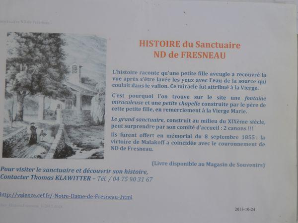 Les Canons De Notre-Dame-De-Fresneau à Marsanne (Drôme 26740)