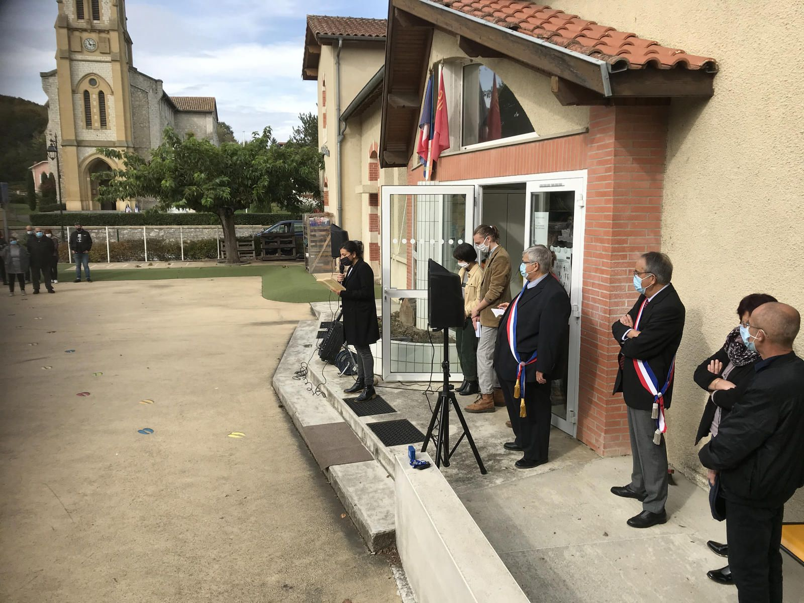 Photos mairie de Mazères