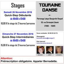 Stages de Quick-Step du 26 et 27 Novembre 2016.