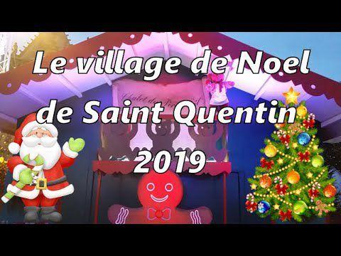Le Village de Noël 2019 de Saint Quentin (Aisne, Picardie, France)