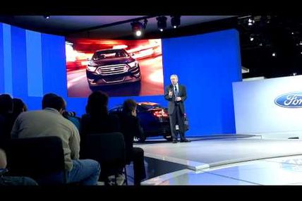 Ford introduces 2013 Taurus at New York International Auto Show
