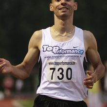 Djamel Champion de France du 10 000 m