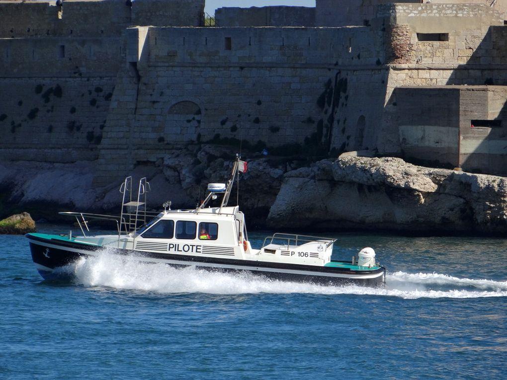 P 106 , Pilotine de Port de Bouc / Fos sur Mer