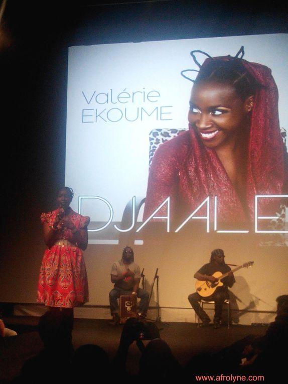 La magnifique Ayden, présentatrice des différents shows du salon - Défilé de Dreadyy Lockseuse - Valérie Ekoume qui présentait son dernier album - Un show coiffure et une présentation d'attachée de foulard