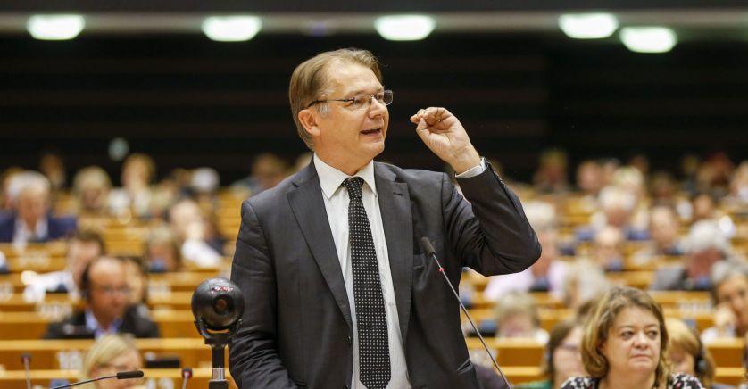 Le député européen Philippe Lamberts, chef du groupe des Verts est un chaud partisan de la TTF.
