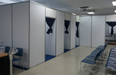 Sewa Partisi Event || Fitting Room R8