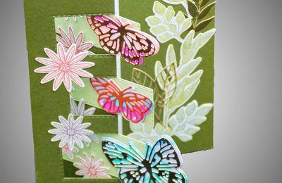Envolée de papillons ...