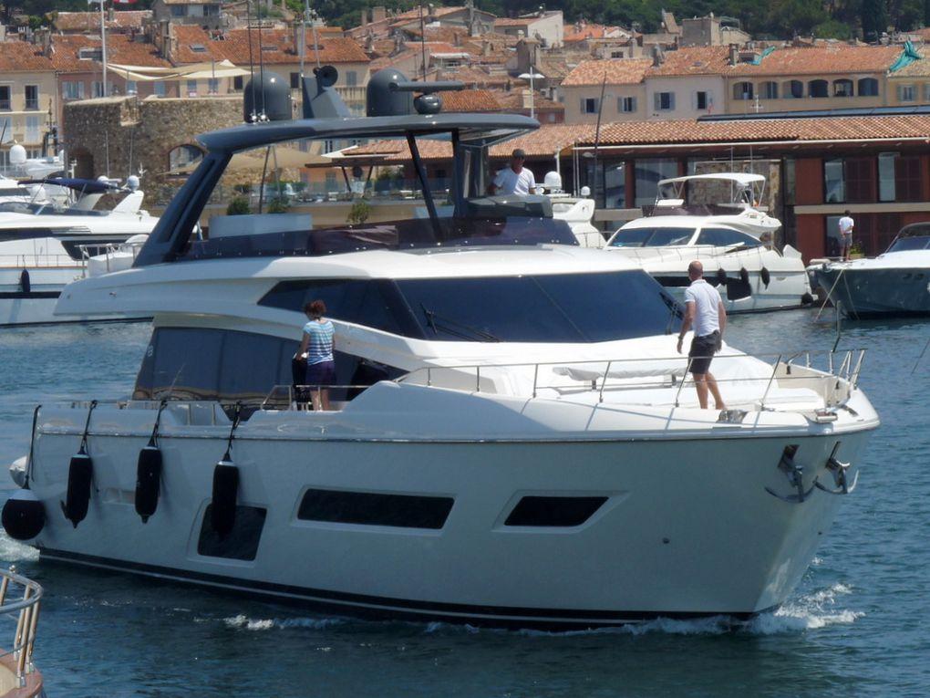 EPIC , appareillant du port de Saint Tropez le 09 juillet 2018