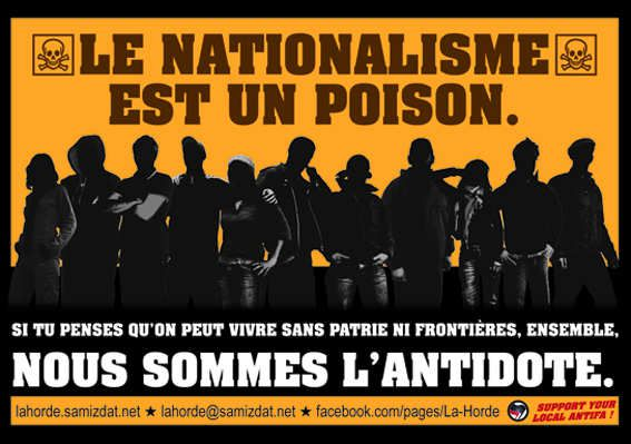 ★ Face au réveil des nations, finissons-en avec le patriotisme