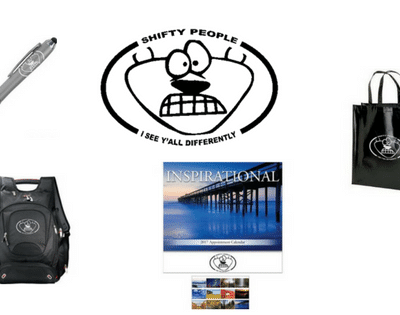 Shifty People Co. Promotional Items
