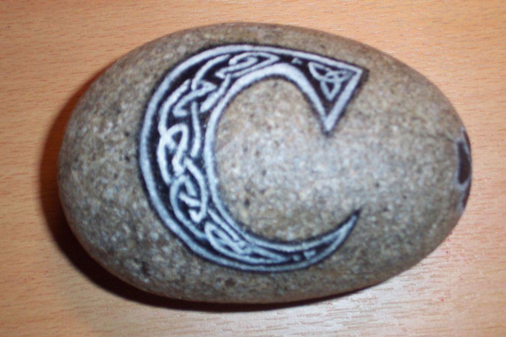 Motifs celtes sur des supports différents